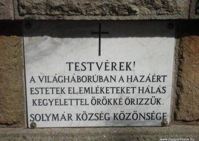 Solymár világháborús emlékmű 2008.04.21.küldő-Huszár Peti (3)