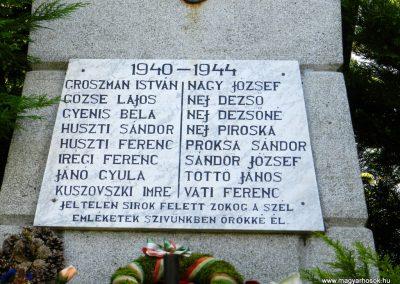 Som világháborús emlékmű 2014.10.12. küldő-Huber Csabáné (2)