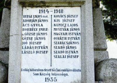 Som világháborús emlékmű 2014.10.12. küldő-Huber Csabáné (3)