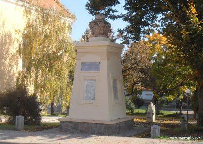 Somberek világháborús emlékmű 2012.10.22. küldő-Bagoly András (13)