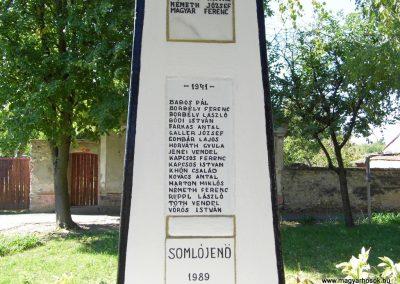 Somlójenő világháborús emlékmű 2015.10.02. küldő-Méri (2)