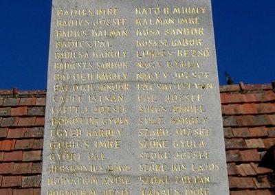 Somlószőlős I. világháborús emlékmű felújítás után 2015.10.02. küldő-Méri (3)
