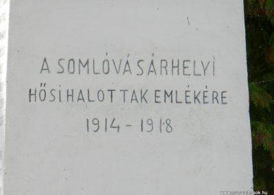 Somlóvásárhely világháborús emlékmű 2018.04.08. küldő-Huber Csabáné (2)