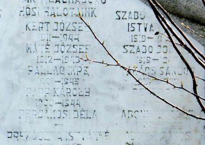 Somodor II. világháborús emlékmű 2014.04.06. küldő-Huber Csabáné (3)
