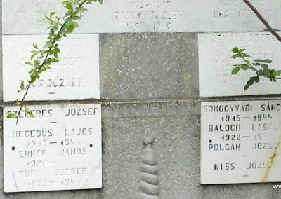 Somodor II. világháborús emlékmű 2014.04.06. küldő-Huber Csabáné (4)
