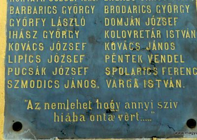 Somogybükkösd I.vh emléktábla 2009.05.08. küldő-Sümec (2)