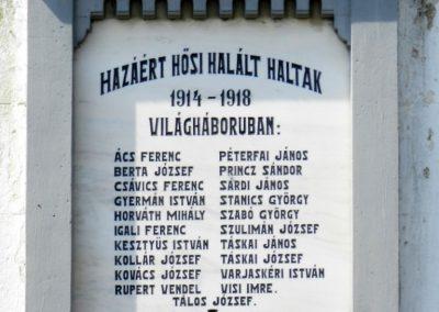 Somogyfajsz világháborús emléktáblák 2015.04.11. küldő-Huber Csabáné (1)