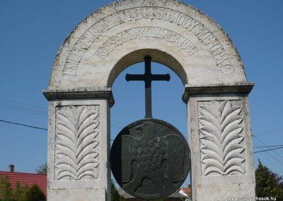 Somogyszentpál világháborús emlékmű 2009.04.21.küldő-Sümec (8)