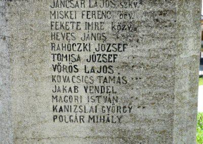 Somogyvár I. világháborús emlékmű 2009.05.05. küldő-Sümec