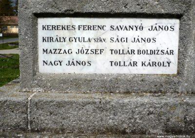 Somogyzsitfa-Felsőzsitfa világháborús emlékmű 2013.04.12. küldő-Sümec (11)