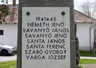 Somogyzsitfa-Felsőzsitfa világháborús emlékmű 2013.04.12. küldő-Sümec (7)
