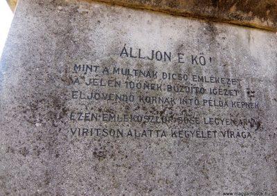 Soponya I. világháborús emlékmű