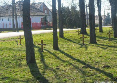 Soponya - Nagyláng , emlékpark
