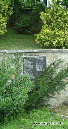 Sopron-Brennbergbánya II.vh emlékmű 2007.10.04.küldő-bringásfecó (1)