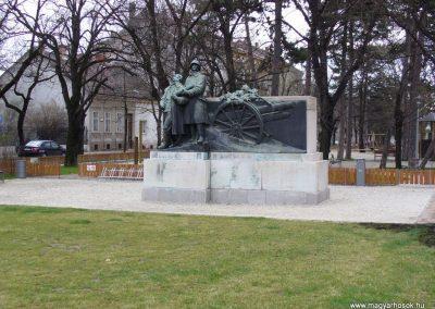 Sopron I.vh emlékmű-2.-a soproni tüzérek emlékére 2008.04.04. küldő-HunMi