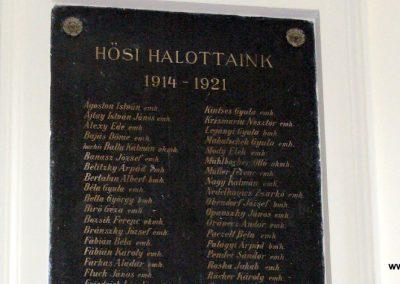 Sopron- az Egyetem falán elhelyezett világháborús emléktáblák 2008.04.04. küldő-HunMi (7)