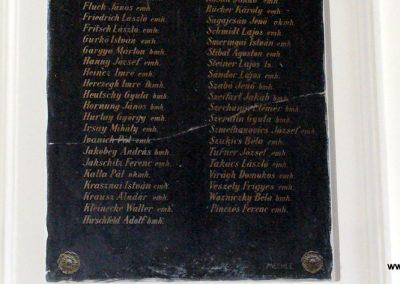 Sopron- az Egyetem falán elhelyezett világháborús emléktáblák 2008.04.04. küldő-HunMi (8)