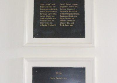 Sopron- az Egyetem falán elhelyezett világháborús emléktáblák 2008.04.04. küldő-HunMi (9)