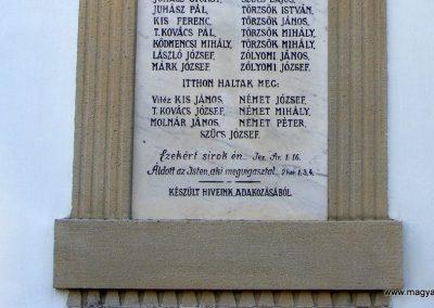 Sukoró világháborús emléktáblák 2012.06.30. küldő-Méri (4)