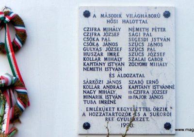 Sukoró világháborús emléktáblák 2012.06.30. küldő-Méri (6)