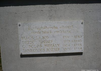 Surd világháborús emlékmű 2009.05.08.küldő-Sümec (6)