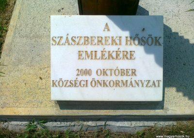 Szászberek Hősök kopjafája 2011.06.14. küldő-Csiszár Lehel (2)