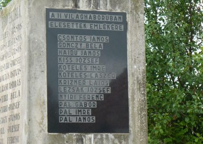Szászfa világháborús emlékmű 2010.05.31. küldő-Gombóc Arthur (5)