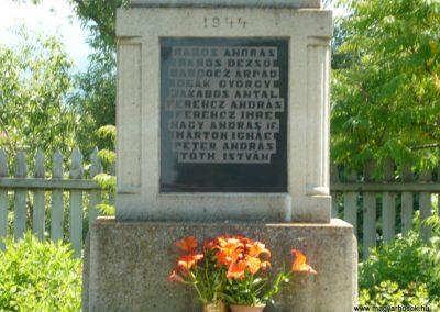 Szászfalu világháborús emlékmű 2011.06.23. küldő-Ágca (6)