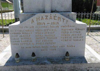 Szászvár-Császta világháborús emlékmű 2016.03.20. küldő-Miki (3)