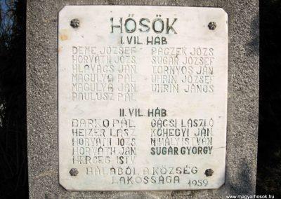 Szécsény-Benczurfalva világháborús emlékmű 2011.03.12. küldő-kalyhas (4)