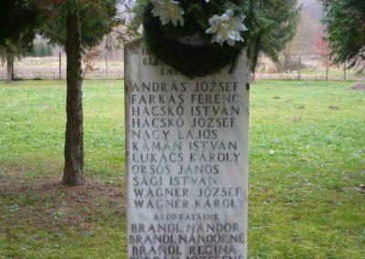 Szécsisziget II.vh emlékmű 2009.11.26. küldő-Sümec (2)