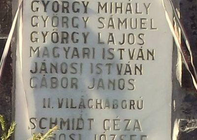 Székelybő világháborús emlékmű 2011.11.06. küldő-Szabó Nándor (2)