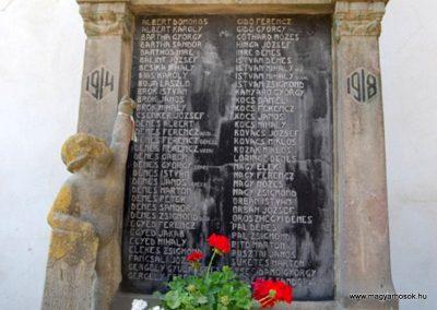 Székelyderzs I.vh emlékmű 2008.08.12. küldő-Arpisz (2)