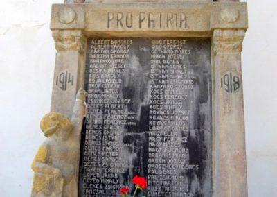 Székelyderzs I.vh emlékmű 2008.08.12. küldő-Arpisz