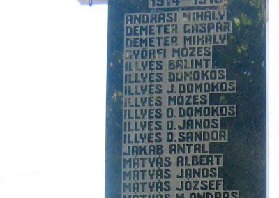 Székelypálfalva világháborús emlékmű 2011.09.20. küldő-Mónika39 (1)