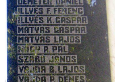 Székelypálfalva világháborús emlékmű 2011.09.20. küldő-Mónika39 (2)