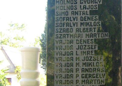 Székelypálfalva világháborús emlékmű 2011.09.20. küldő-Mónika39 (6)