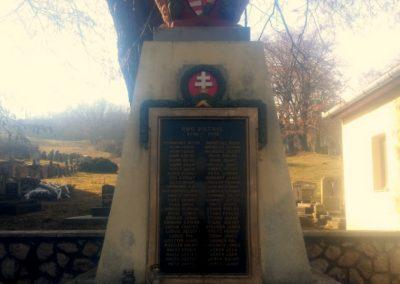 Székelyszabar I. világháborús emlékmű 2016.01.26. küldő-KRySZ (1)