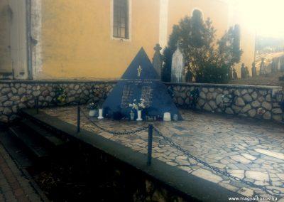 Székelyszabar II. világháborús emlékmű 2016.01.26. küldő-KRySZ