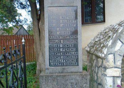 Székelyszentlélek világháborús emlékmű 2015.09.24. küldő-Mónika39 (1)