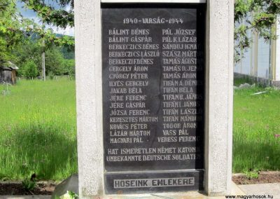 Székelyvarság világháborús emlékmű 2014.06.06. küldő-kalyhas (12)