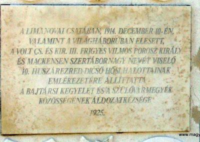 Székesfehérvár Szentlélek katonai temető világháborús emlékművek és sírok 2012.08.25. küldő-Mimóza (4)