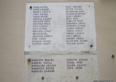 Székesfehérvár Ybl Miklós Gimnázium világháborús emlékműve 2009.10.20. küldő-Mimóza (6)