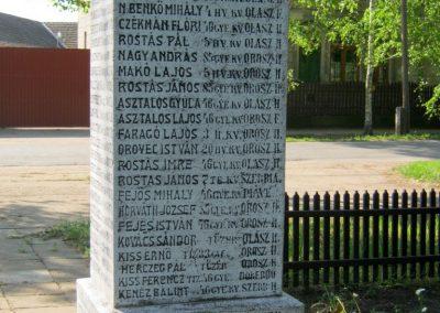Székkutas I. világháborús emlékmű 2015.05.01. küldő-Emese (15)