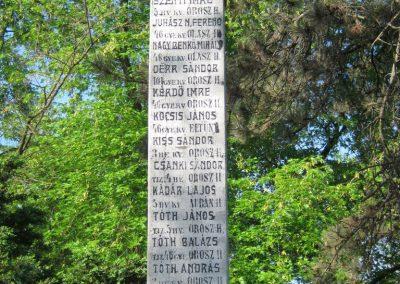 Székkutas I. világháborús emlékmű 2015.05.01. küldő-Emese (17)