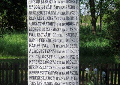 Székkutas I. világháborús emlékmű 2015.05.01. küldő-Emese (18)