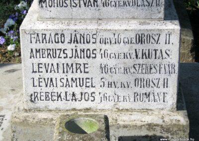 Székkutas I. világháborús emlékmű 2015.05.01. küldő-Emese (19)
