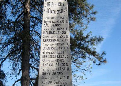 Székkutas I. világháborús emlékmű 2015.05.01. küldő-Emese (3)