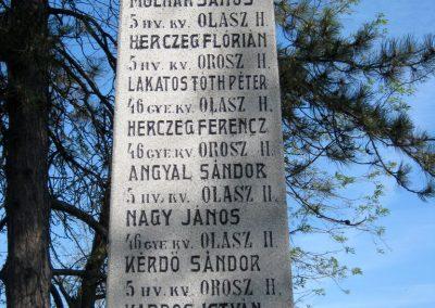 Székkutas I. világháborús emlékmű 2015.05.01. küldő-Emese (5)