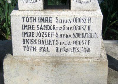 Székkutas I. világháborús emlékmű 2015.05.01. küldő-Emese (7)